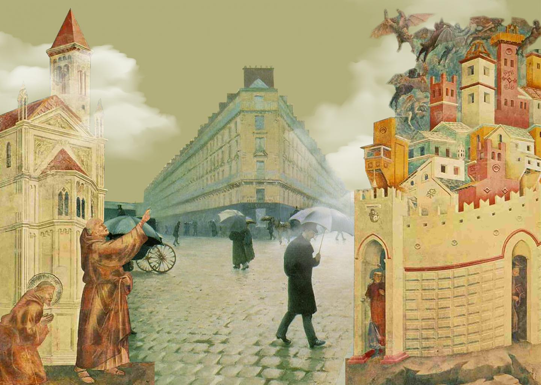 Город в западноевропейской живописи - от средневековья до импрессионистов