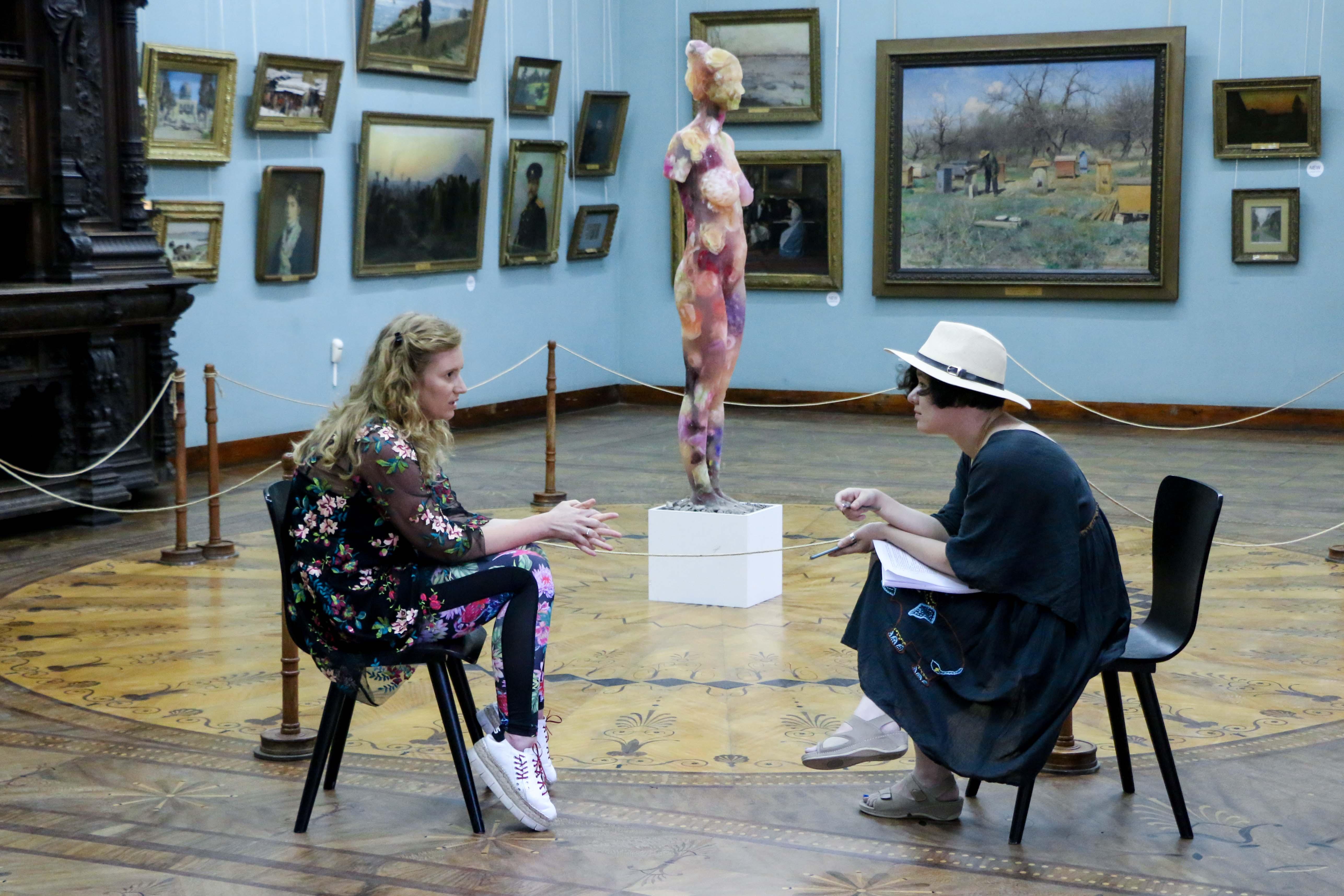 Говорит художница: Мария Куликовская, «Моя кожа – мое дело»