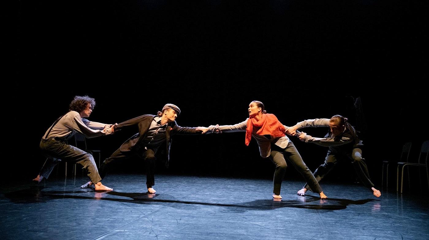 Театральный перформанс «Внутренняя деструкция»: телесность, герметичность, абстрактность (UA)