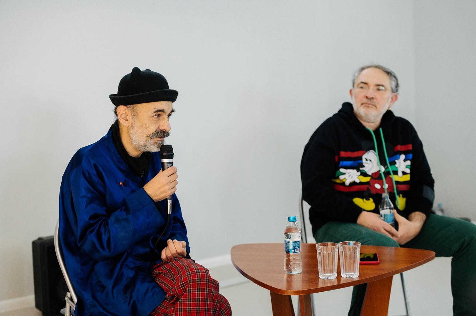 Беседа Марата Гельмана и Сергея Ануфриева: от культурного ландшафта к полной периодической таблице искусств