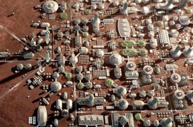 Оголошено конкурс проєктів першого міста на Марсі