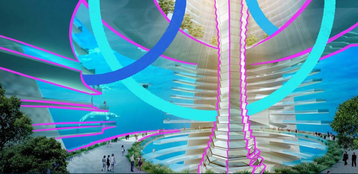 А над нами бьют хвостами киты: какими будут подводные города будущего