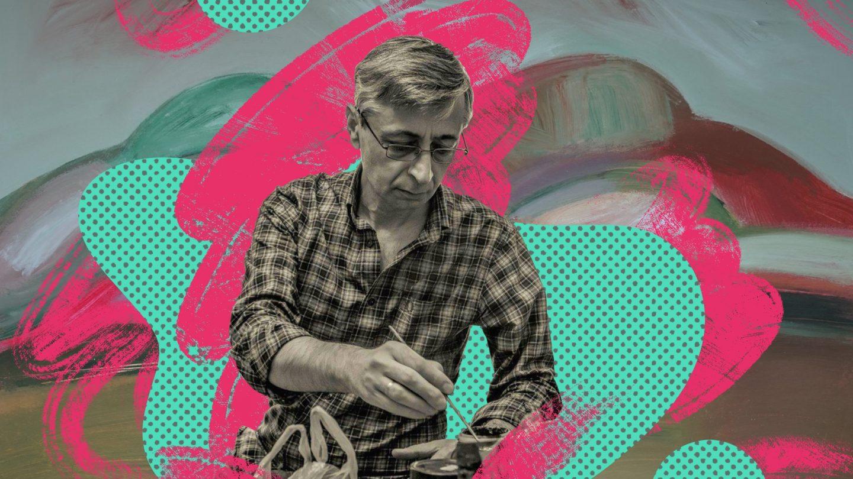 Ахра Аджинджал: художник, которого можно поразить