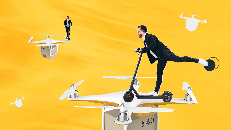 Самокаты и дроны: правила новой мобильности