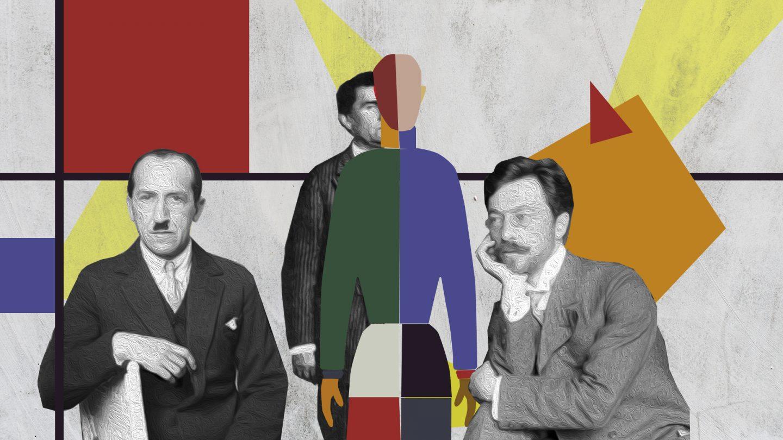 Кандинский, Мондриан, Малевич: общие пути беспредметного искусства