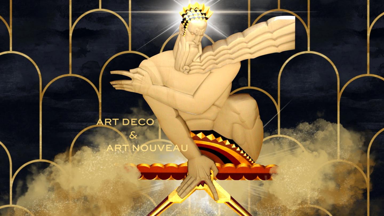 От ар-нуво до ар-деко: эстетика и семиотика (UA)