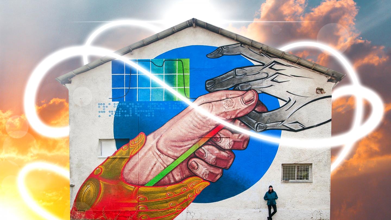 Сакральное на улицах: как художник заставляет стены говорить о важном (UA)