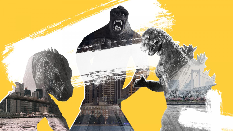 Монстры против городов: искусство разрушения