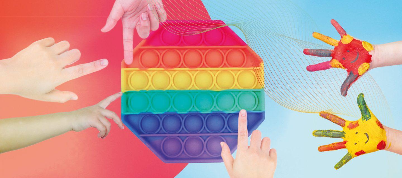 Кто придумал антистрессовые игрушки и почему они так популярны?